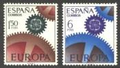 ESPAÑA 1967 - EUROPA CEPT - Edifil Nº 1795-1796 - Yvert Nº 1448-1449 - 1931-Hoy: 2ª República - ... Juan Carlos I