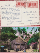SENEGAL UN COIN DU VILLAGE INDIGENE Edit. CARNAUD Frères De DAKAR Afrika Africa To: Villa Berghuis Korbeek-Lo - Sénégal