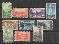 1934 MNH National Parks