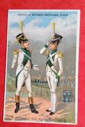 Chocolat Grondard Belle Chromo Sicard Militaria Militaire Garde Paris En Très Bon état - Chocolat