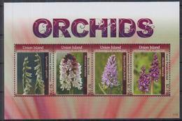 Grenadines 2011 / Flowers Orchids MNH Flores Blumen Fleurs / Cu2526  33