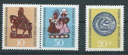 DDR  1969  Mi 1521 - 1523  Volkskunst Aus Der Lausitz  Postfrisch