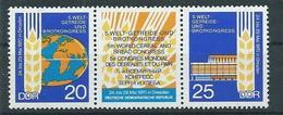 DDR  1970  Mi 1675 - 1676   Weltgetreide- Und Brotkongress Postfrisch