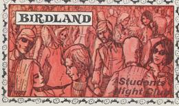 BIRLAND    STUDENTS  HIGHT  CLUB  (LONDON) - Publicités
