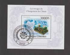 Fonte Des Glaciers - Les Ravages Du Changement De Climat - Premier Jour - UNION DES COMORES