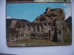 Peru Cusco Temple - Peru