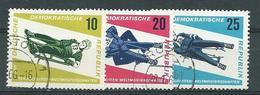 DDR  1966  Mi 1156 - 1158  Rennrodel-WM  Gestempelt