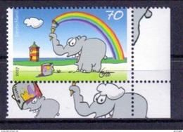 Deutschland 'Ottifant (Comic-Elefant)' / Germany 'Ottifant (Elephant Comic)' **/MNH 2017
