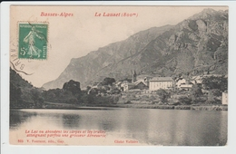 LE LAUZET UBAYE - ALPES DE HAUTE PROVENCE - LE LAC - Autres Communes