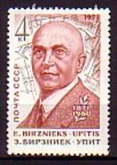 RUSSIA - UdSSR - 1971 - 100ahs De La Naissance De L'ecrivent Letton Birznieks - 1v **