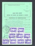 FINISTERE 29 BOHARS ORDRE DE REEXPEDITION - Marcophilie (Lettres)