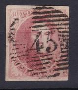 N° 8 Margé Perception 45 GAND - 1851-1857 Médaillons (6/8)