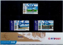 Nederland 2001: Europazegels In Dubbele Waarde ** MNH (frankeergeldig)