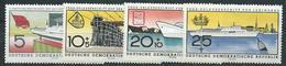 DDR 1960  Mi 768 - 771 Stapellauf Des FDGB-Urlauberschiffs  Postfrisch