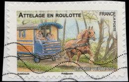 France Adhésif 2013. - Ad 820 - Attelage En Roulotte