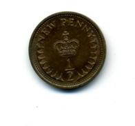1971  1/2 NEW PENNY - 1971-… : Monnaies Décimales
