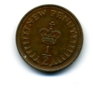 1976  1/2 NEW PENNY - 1971-… : Monnaies Décimales