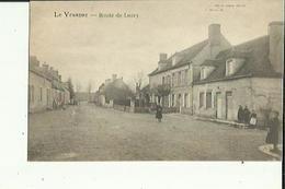 Le Veurdre  03    La Route De Lurcy Animée - France