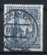 33718) BERLIN # 109 Gestempelt Aus 1953, 100.- € - Gebraucht