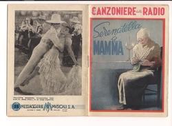 $3-5057 Illustratore BOCCASILE Canzoniere Della Radio 1944 Raro Numero - Music