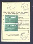 FINISTERE 29 LA FEUILLEE ORDRE DE REEXPEDITION - Marcophilie (Lettres)