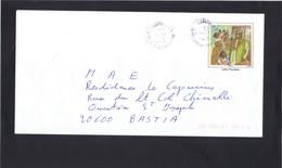 Entier Enveloppe PAP  MAYOTTE .  Karibu Maoré . Oblitérée Mamouzou Mayotte 2011 .