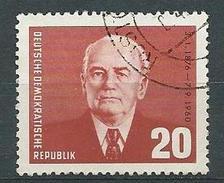 DDR 1961  Mi 807  85. Geburtstag Von W. Pieck Gestempelt