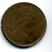 1971  2 NEW PENCE - 1971-… : Monnaies Décimales