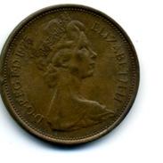 1975  2 NEW PENCE - 1971-… : Monnaies Décimales