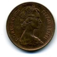 1979  2 NEW PENCE - 1971-… : Monnaies Décimales