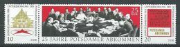 DDR 1970  Mi 1589 - 1600  25 Jahre Potsdamer Abkommen  Postfrisch