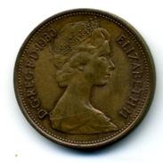 1980  2 NEW PENCE - 1971-… : Monnaies Décimales