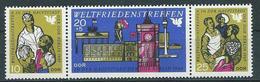 DDR  1969  Mi 1478 - 1480  Weltfriedenstreffen  Gpostfrisch