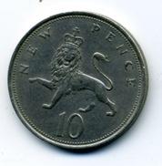 1970  10 NEW PENCE - 1971-… : Monnaies Décimales