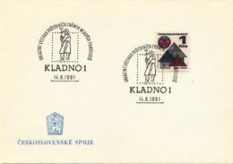 K9101 - Czechoslovakia (1981) Kladno 1: Regional Stamp Exhibition Of Young Philatelists (metallurgist)