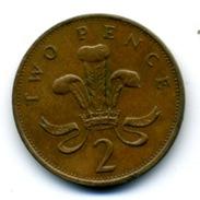 1989  2 PENCE - 1971-… : Monnaies Décimales