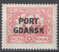 Poland Port Gdansk 1926 Danzig - Mi. 17 - MNH (**) - Postfrisch - Sonstige