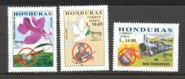 Honduras Sc# C1078-C1080 MNH 2000 America Issue - Honduras