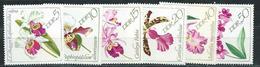DDR  1968  Mi 1420 - 1425  Orchideen  Postfrisch