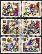 DDR - Michel 1323 / 1328 Einzeln - OO Gestempelt (A) - König Drosselbart