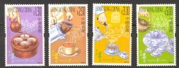 Hong Kong Sc# 944-947 MNH 2001 Tea Culture - 1997-... Chinese Admnistrative Region