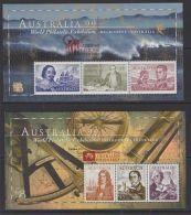 AUSTRALIA SGMS1852 1999 AUSTRALIA STAMP EXHIBITION O/P SUPPORTING PHILATELY MNH