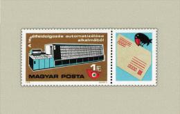 Hungary 1978. Animals / Post Pigeon Segmental Stamp MNH (**) Michel: 3309 / 0.60 EUR - Unused Stamps