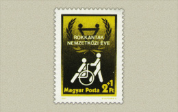 Hungary 1981. Cripple People Year Stamp MNH (**) Michel: 3500 / 1.50 EUR - Ungebraucht