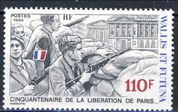WF 1994 N. 463 Liberazione Di Parigi MNH Cat. € 3,60 - Wallis E Futuna