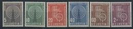 1958 Svizzera, U.I.T. , Serie Completa Nuova (**)