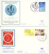 Trompet Envelop Nr. S34 En S35 (1980) - Periode 1980-... (Beatrix)