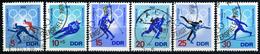 DDR - Michel 1335 / 1340 - OO Gestempelt (A) - Winterolympiade 68