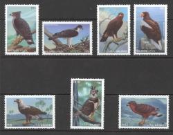 Maldive Islands Sc# 2201-2207 MNH 1997 Eagles - Maldives (1965-...)