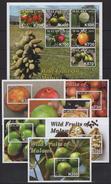 Malawi (2016) - MS + 6 Blocks -   /  Fruits - Frutas